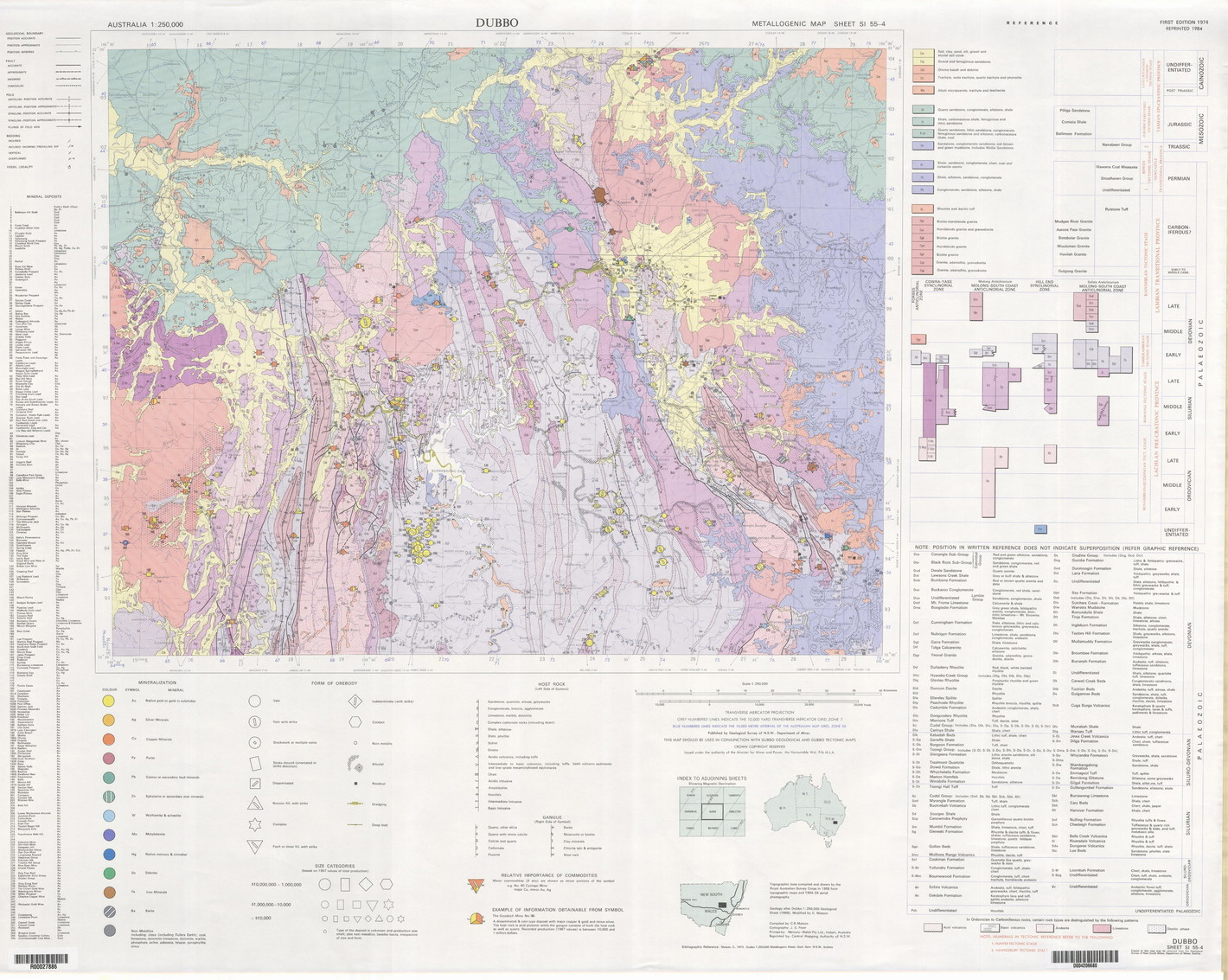 Australia Map Dubbo.Digs Geological Survey Of Nsw Search